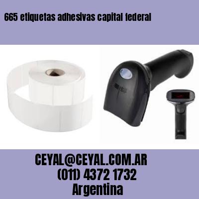 665 etiquetas adhesivas capital federal