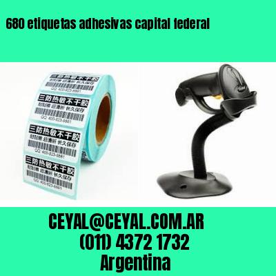 680 etiquetas adhesivas capital federal