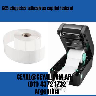 685 etiquetas adhesivas capital federal