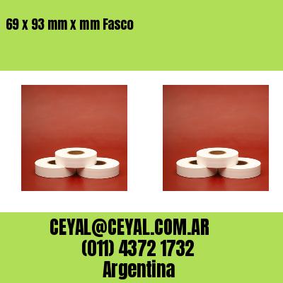 69 x 93 mm x mm Fasco