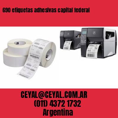690 etiquetas adhesivas capital federal