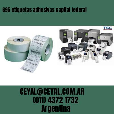 695 etiquetas adhesivas capital federal