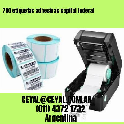 700 etiquetas adhesivas capital federal