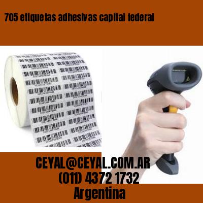 705 etiquetas adhesivas capital federal
