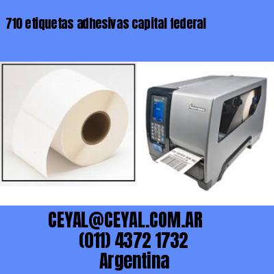 710 etiquetas adhesivas capital federal