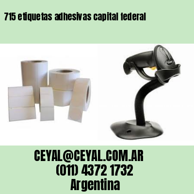 715 etiquetas adhesivas capital federal