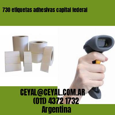 730 etiquetas adhesivas capital federal