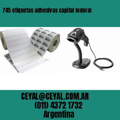 745 etiquetas adhesivas capital federal