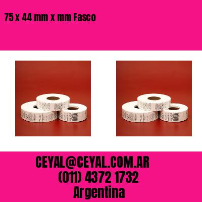 75 x 44 mm x mm Fasco