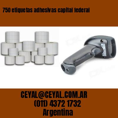 750 etiquetas adhesivas capital federal