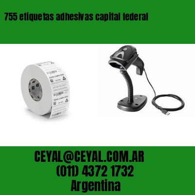 755 etiquetas adhesivas capital federal