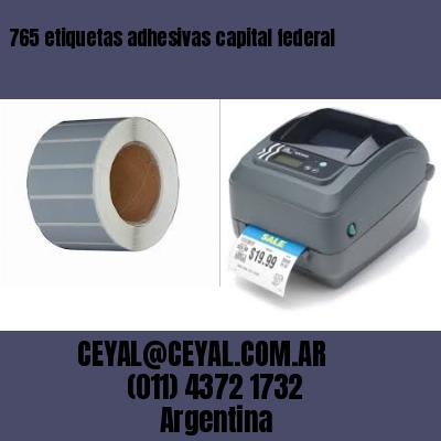 765 etiquetas adhesivas capital federal