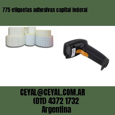 775 etiquetas adhesivas capital federal