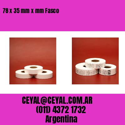 78 x 35 mm x mm Fasco