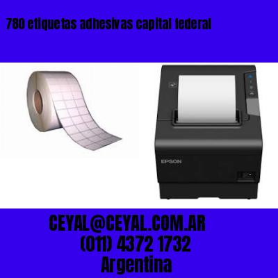 780 etiquetas adhesivas capital federal