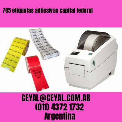 785 etiquetas adhesivas capital federal