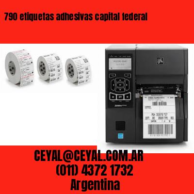 790 etiquetas adhesivas capital federal