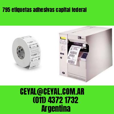 795 etiquetas adhesivas capital federal