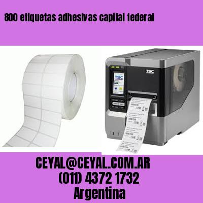 800 etiquetas adhesivas capital federal