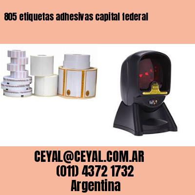 805 etiquetas adhesivas capital federal