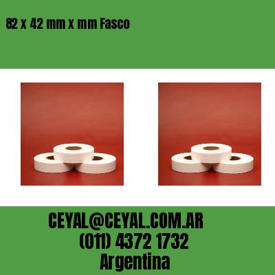 82 x 42 mm x mm Fasco
