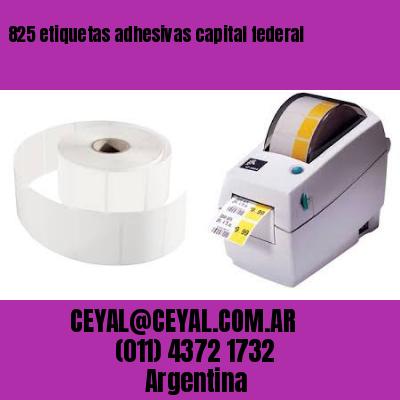 825 etiquetas adhesivas capital federal