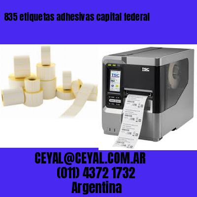 835 etiquetas adhesivas capital federal