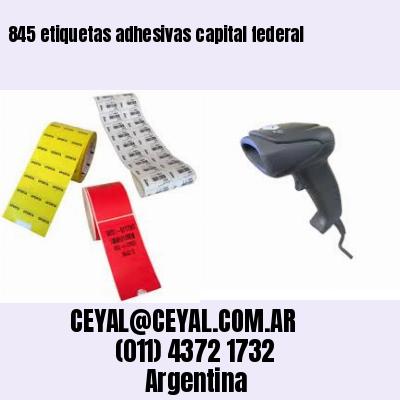 845 etiquetas adhesivas capital federal