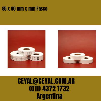 85 x 60 mm x mm Fasco