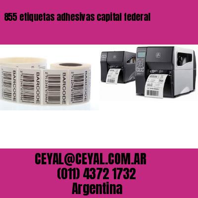 855 etiquetas adhesivas capital federal