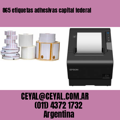 865 etiquetas adhesivas capital federal