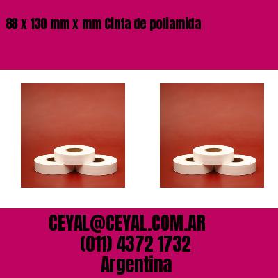 88 x 130 mm x mm Cinta de poliamida
