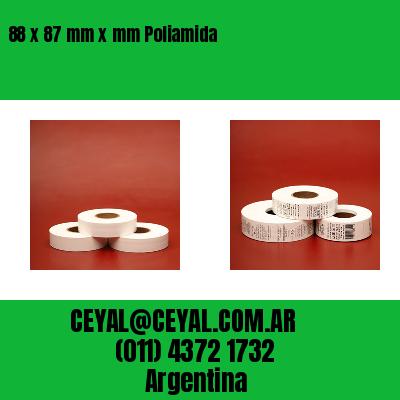 88 x 87 mm x mm Poliamida