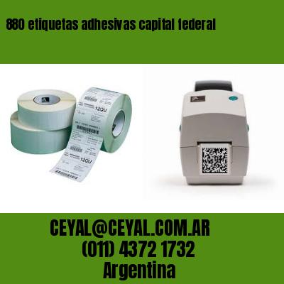 880 etiquetas adhesivas capital federal