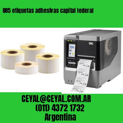 885 etiquetas adhesivas capital federal