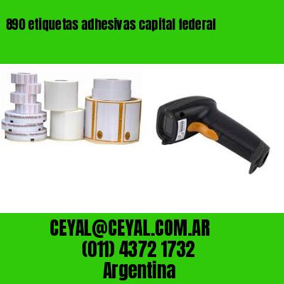 890 etiquetas adhesivas capital federal