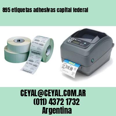 895 etiquetas adhesivas capital federal
