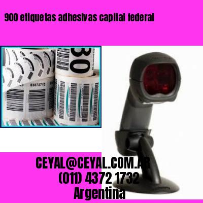 900 etiquetas adhesivas capital federal
