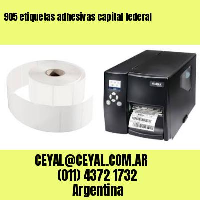 905 etiquetas adhesivas capital federal