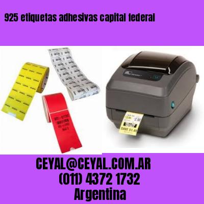 925 etiquetas adhesivas capital federal