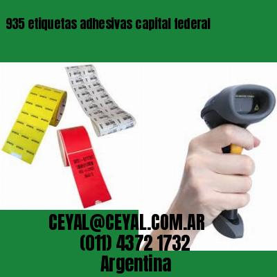 935 etiquetas adhesivas capital federal