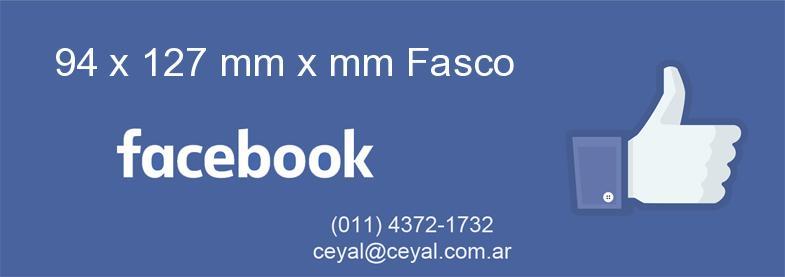 94 x 127 mm x mm Fasco