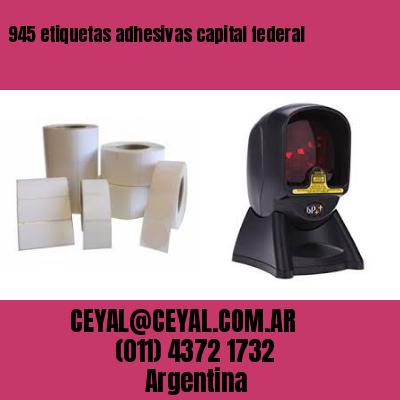 945 etiquetas adhesivas capital federal
