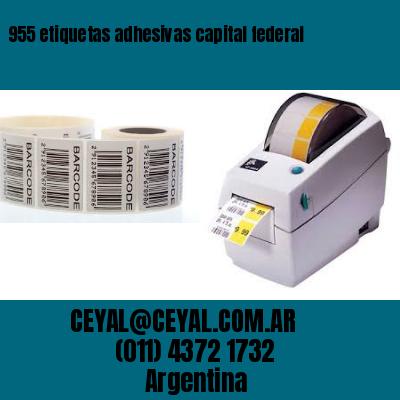 955 etiquetas adhesivas capital federal