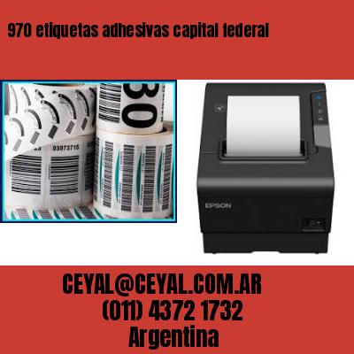 970 etiquetas adhesivas capital federal
