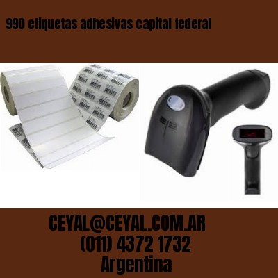 990 etiquetas adhesivas capital federal