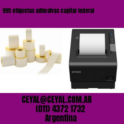 995 etiquetas adhesivas capital federal