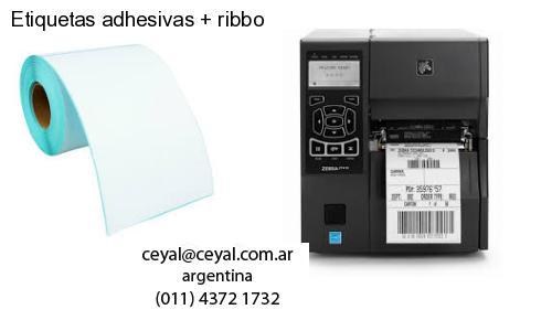 Etiquetas adhesivas   ribbo