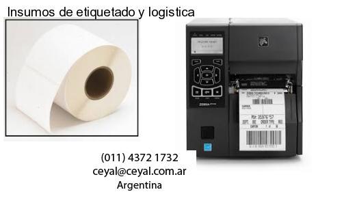 Insumos de etiquetado y logistica
