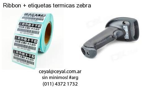 Ribbon   etiquetas termicas zebra